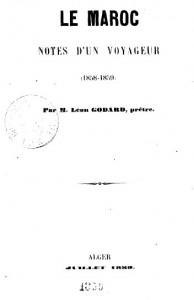 Le maroc Notes d un voyageur (1858-1859)