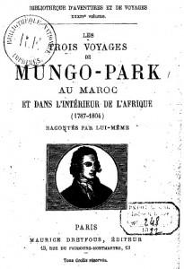 Les trois voyages de Mungo-Park au Maroc