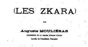 Unes tribu Zenete Anti- Musulmane Au Maroc (Les Zkara)