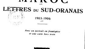 Vers le Maroc lettres du Sud-Oranais